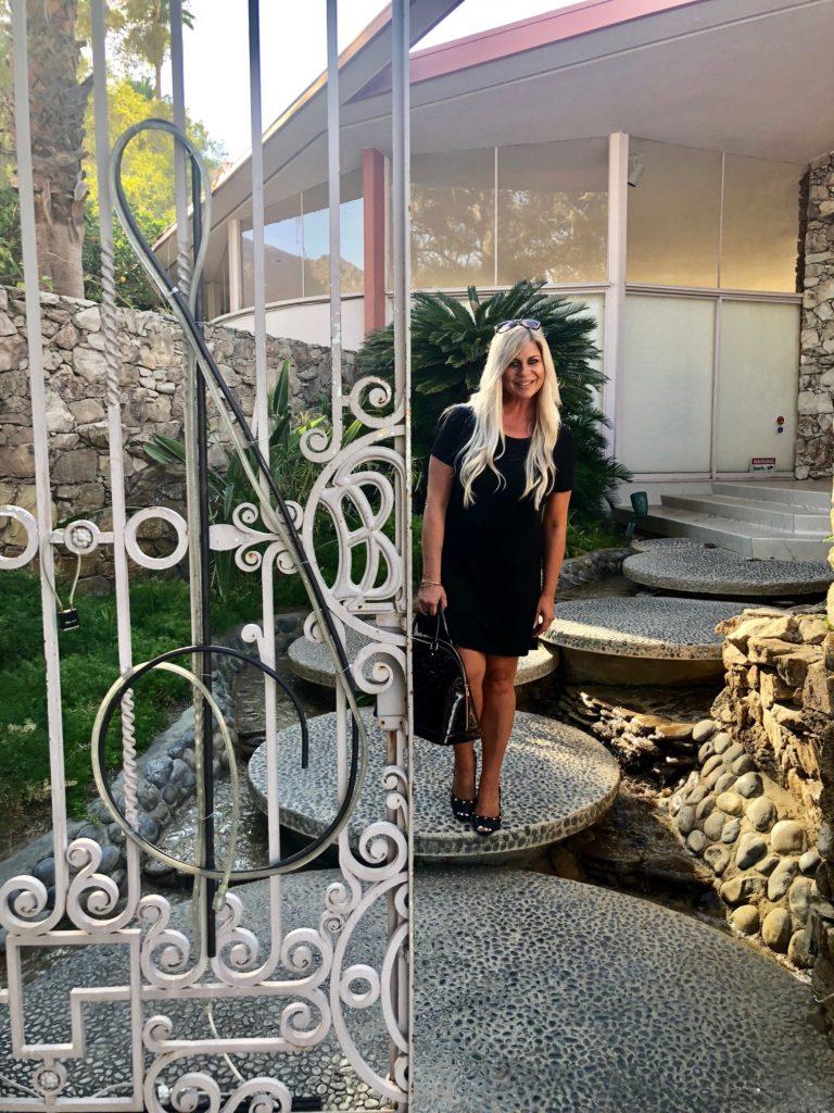 Shannon Lazovski at Elvis Presley Honeymoon House