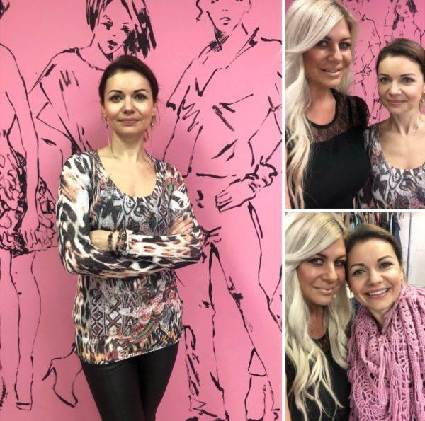Mila Pershyna and Shannon Lazovski